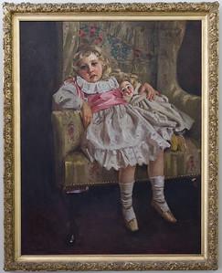 Agatha Christie as a child.