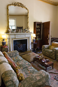Agatha Christie's drawing room at Greenway.