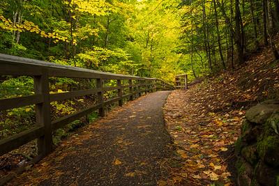 Path to Munising Falls