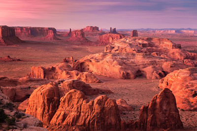 Hunts Mesa, Monument Valley, Arizona