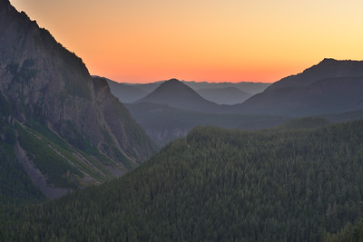 Sunset at Inspiration Point