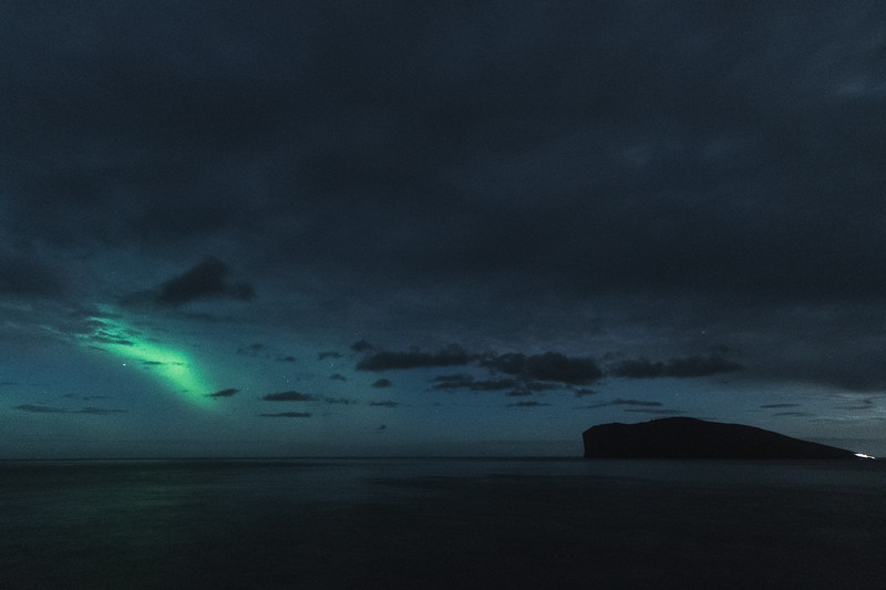 Fugloy and the Northern lights