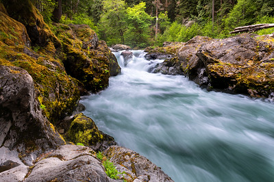 Salmon Cascades, Sol Duc River