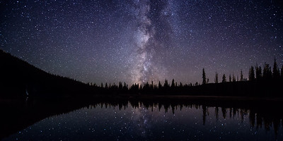 Milky Way over Devils Lake