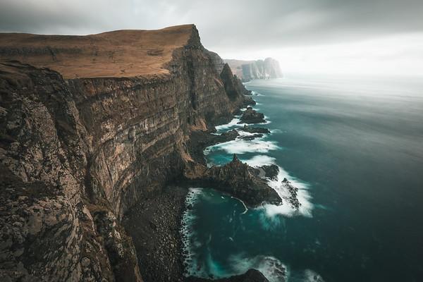 Dreamy Cliffs of Suduroy, Faroe islands