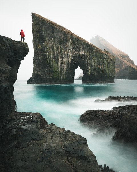 Drangarnir, Faroe islands.