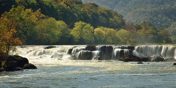 Sandstone Falls, New River, WV
