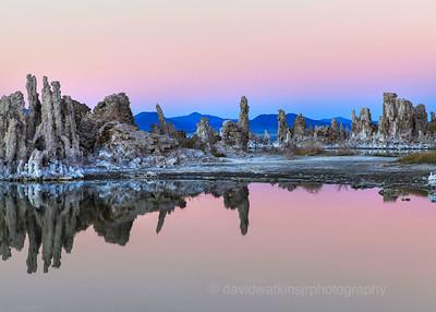 After Sunset at Mono Lake