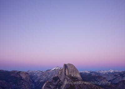 Blue Hour over Yosemite