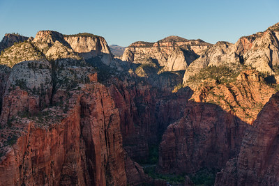 Zion Canyon View from Angels Landing