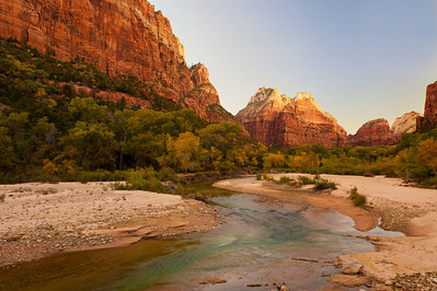 Virgin River, Zion National Park