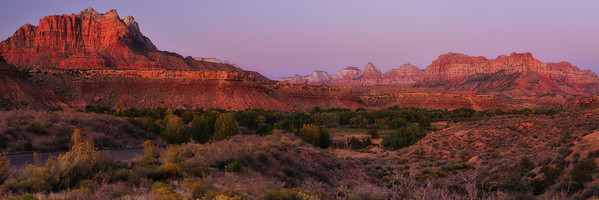 Zion Twilight, Rockville, UT