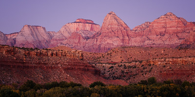 Twilight, Zion National Park