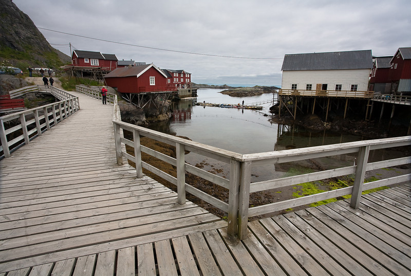 The village of Ä, Lofoten