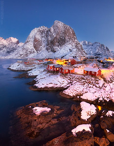 Dawn at Hamnoy