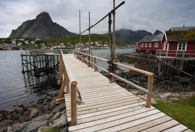 The village of Reine, Lofoten.