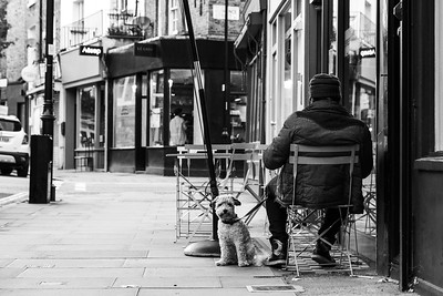 London - Black and White