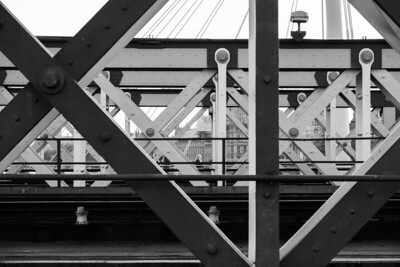 The Hungerford and Jubilee Bridges