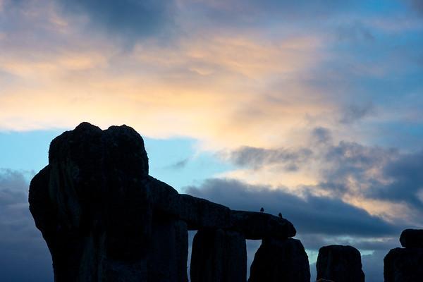 Daybreak, Stonehenge