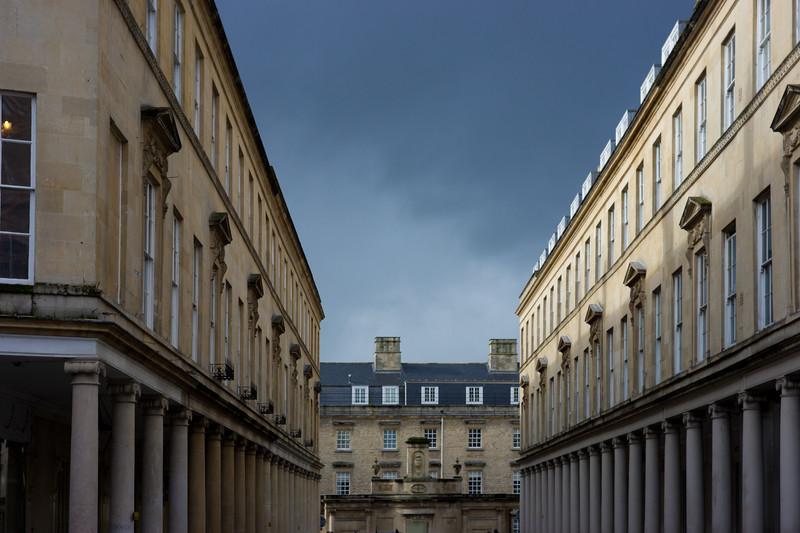 Stormy Skies, Bath
