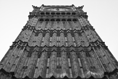 Big Ben, Sidewalk View