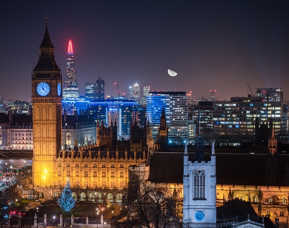 The Moon Over Westminster