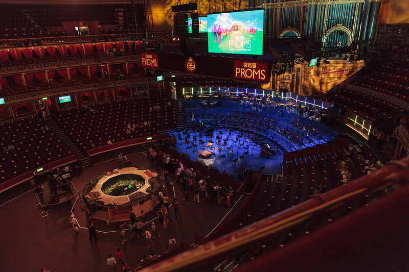 BBC Proms in Royal Albert Hall, London