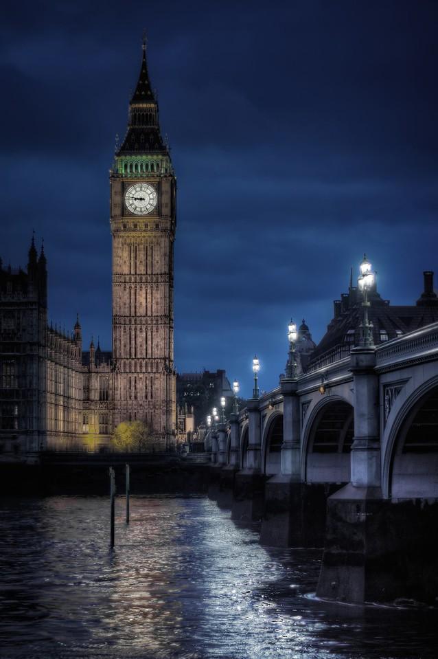 Big Ben standing tall