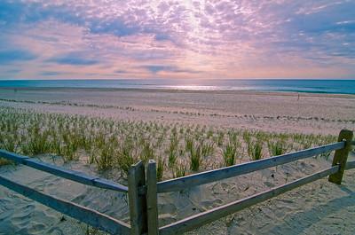 Morning Sun .  Long Beach Island, New Jersey