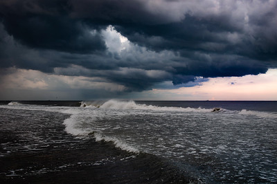 Incoming Storm - Long Beach Island, New Jersey