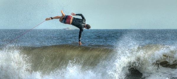 Surfer in Suspension
