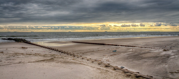 After Sandy, A Beach Laid Bare