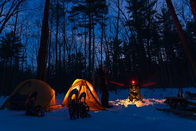 Snow camping ❤️❄️⛺️