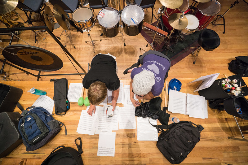 View of Percussion Central