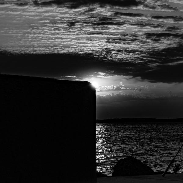 Three-quarter Sunset