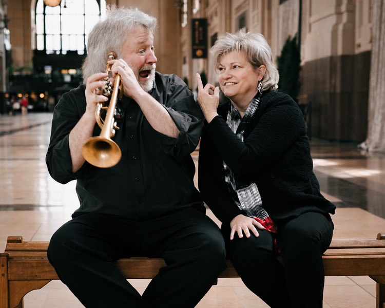 """Dr. Keith Benjamin and Dr. Melody Turnquist Steed released a CD """"Ripples"""" this year. This was not selected as an artist photo, but it was a favorite."""