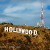 hollywood sign - miniature effect