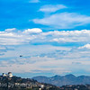 space shuttle endeavor flyover - griffith observatory