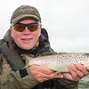 A typical light coloured Lough Carra brown trout
