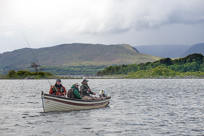 Flyfishing on Lough Mask