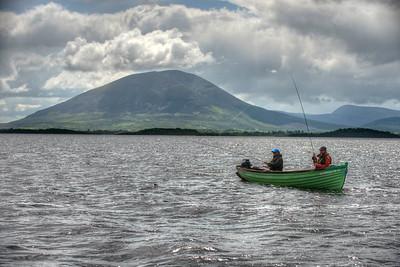Mayfly fishing on Lough Conn Mayo