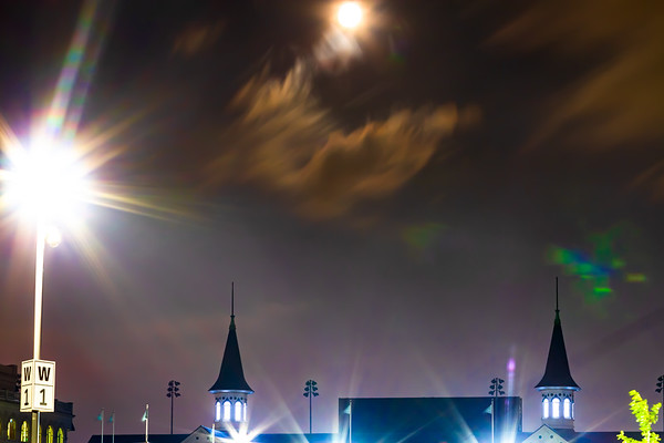 Moon over the Spires - 2