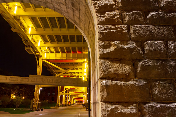 Under the 2nd St. Bridge