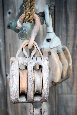 Old Block and Tackle at the Forge