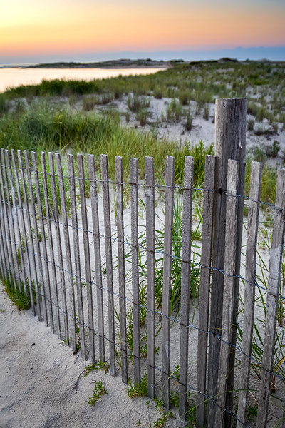 Path to the Bay at Sunset, Cape Henlopen State Park