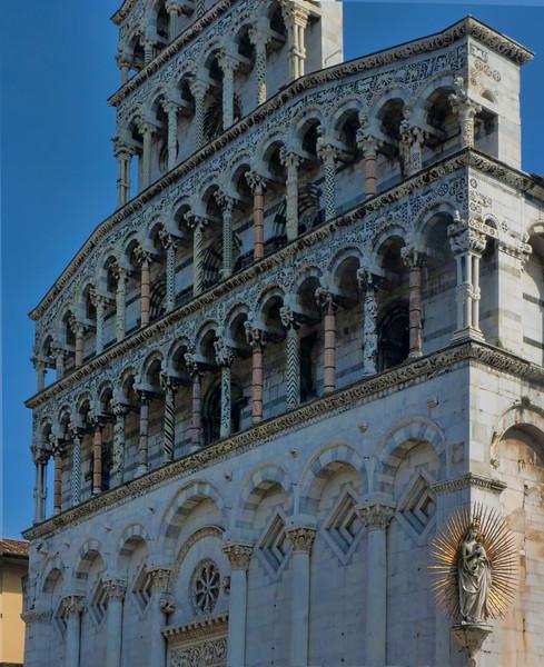 San Michele in Foro, Lucca. 13th c. Roman facade