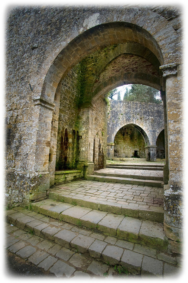 Entrance arch to Volterra, Italy. Ancient Etruscan hilltown in Tuscany. Several vampire films shot on location here.