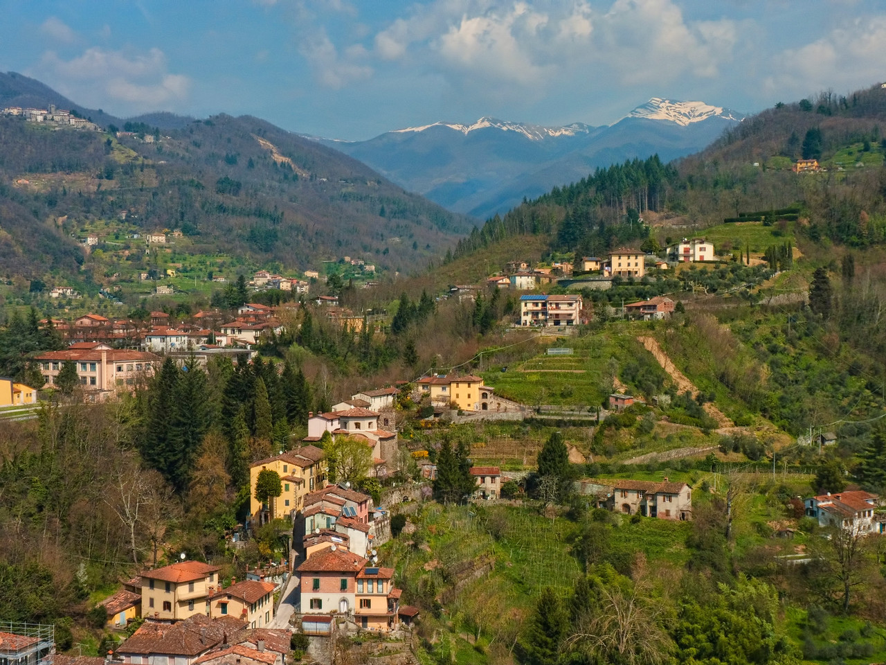 View from Barga, Italy