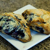 150/365<br /> Homemade Blueberry Scones. The best! Fresh dough even freezes well. Pop 'em in the oven for a light, fruit filled goodness.