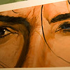 146/365<br /> JLA: League of One (Wonder Woman) by Christopher Moeller. Original, Acrylics.<br /> <br /> I decided to take photos around the house. Before taking these close-up photos of some of my art collection, I never noticed the theme before - The Eyes Have It.